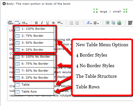 Kindlegoldrush kbg new kindle software creates premium for Html table options